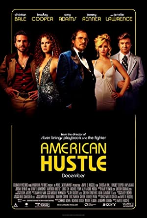 movie poster of American Hustle