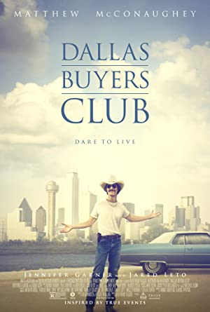 movie poster of Dallas Buyers Club