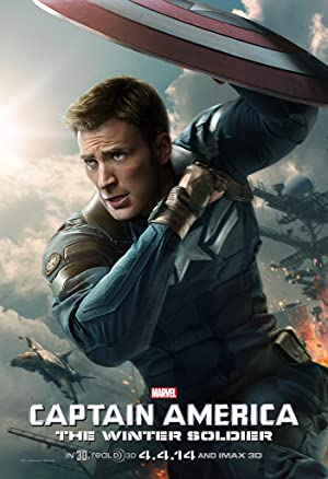 movie poster of Captain America: The Winter Soldier