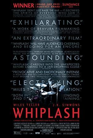 movie poster of Whiplash