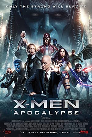 movie poster of X-Men: Apocalypse
