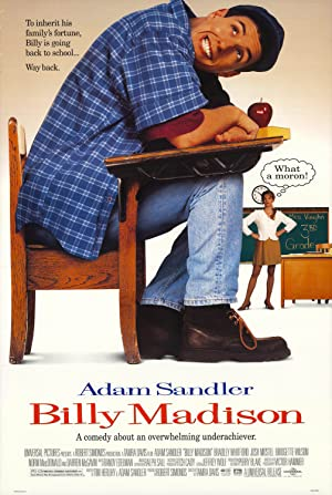 movie poster of Billy Madison