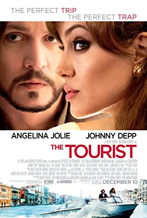 movie poster of The Tourist