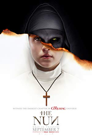 movie poster of The Nun