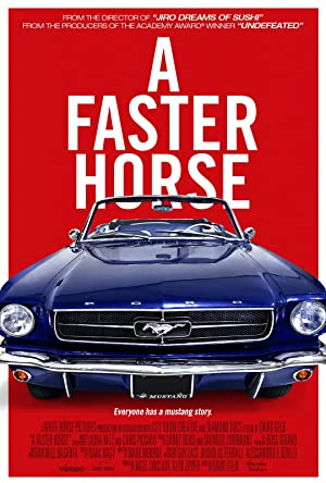 movie poster of A Faster Horse