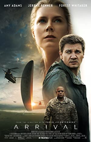 movie poster of Arrival