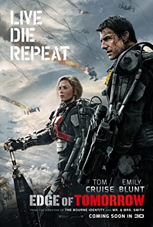 movie poster of Edge of Tomorrow