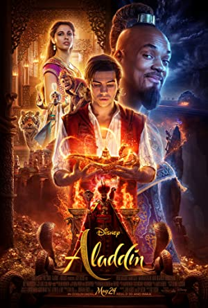 movie poster of Aladdin