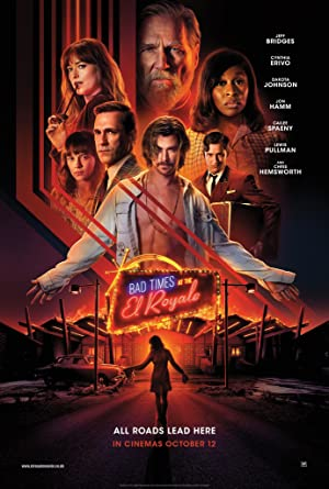 movie poster of Bad Times at the El Royale