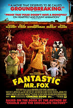 movie poster of Fantastic Mr. Fox