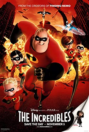 movie poster of The Incredibles