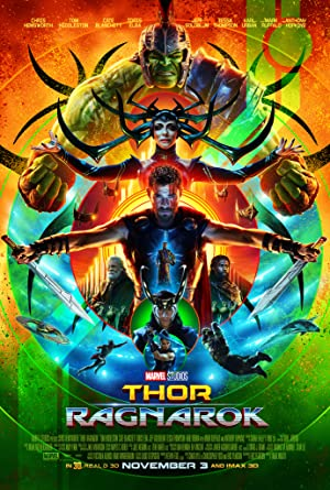 movie poster of Thor: Ragnarok