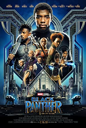 movie poster of Black Panther