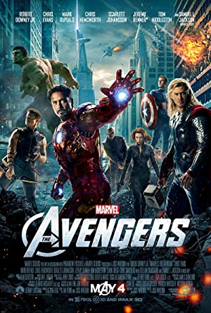 movie poster of The Avengers