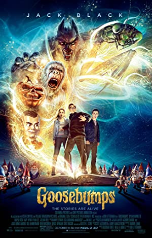 movie poster of Goosebumps