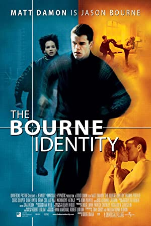 movie poster of The Bourne Identity