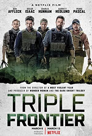 movie poster of Triple Frontier