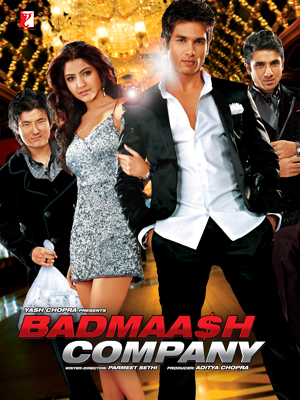 movie poster of Badmaash Company