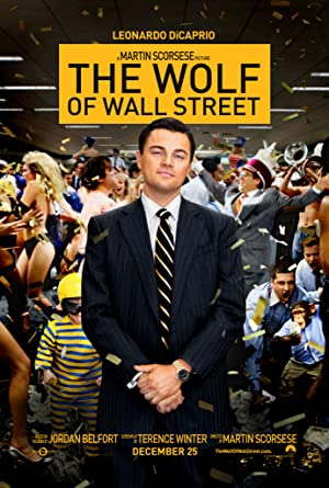 movie poster of The Wolf of Wall Street