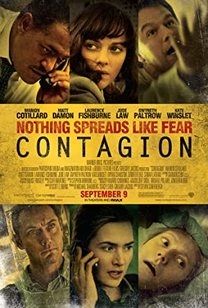 movie poster of Contagion