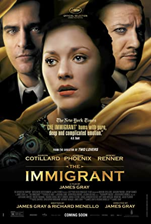 movie poster of The Immigrant