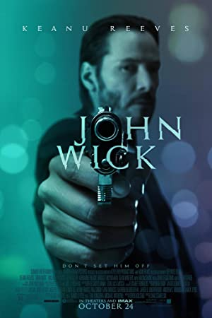 movie poster of John Wick
