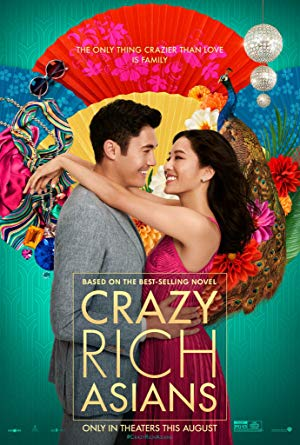 movie poster of Crazy Rich Asians