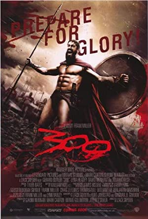 movie poster of 300