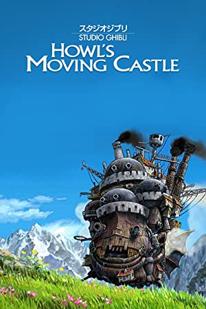 movie poster of Howl's Moving Castle