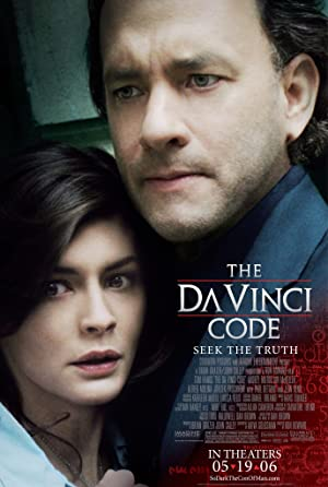 movie poster of The Da Vinci Code