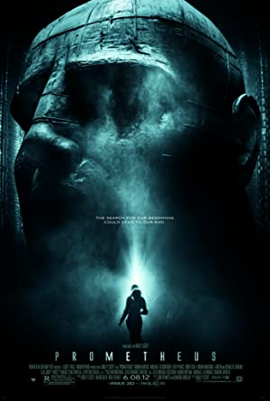 movie poster of Prometheus