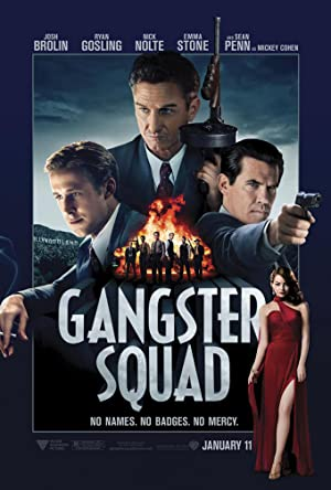 movie poster of Gangster Squad
