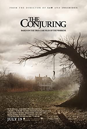 movie poster of The Conjuring