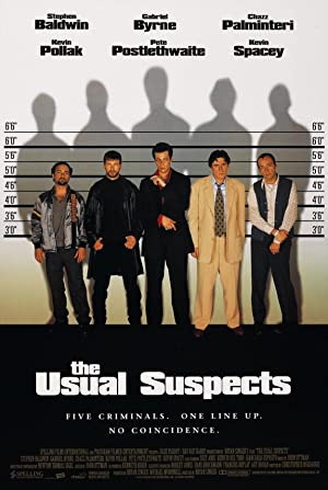 movie poster of The Usual Suspects