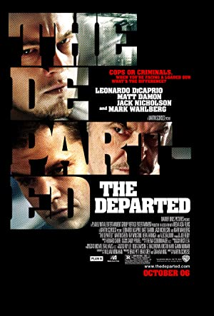 movie poster of The Departed