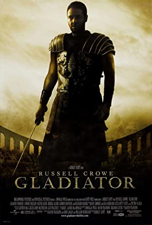movie poster of Gladiator streaming (where to watch online?)
