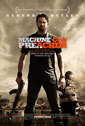 movie poster of Machine Gun Preacher