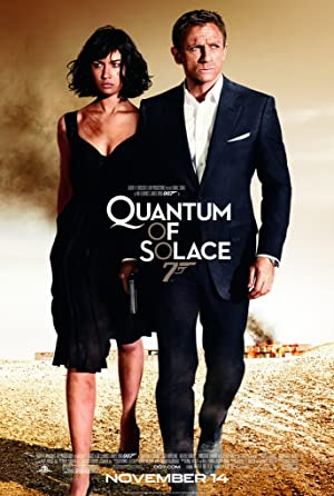 movie poster of Quantum of Solace