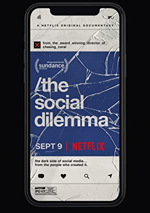 movie poster of The Social Dilemma