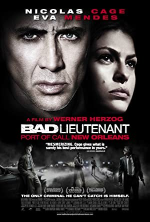 movie poster of Bad Lieutenant: Port of Call New Orleans