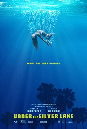 movie poster of Under the Silver Lake streaming (where to watch online?)