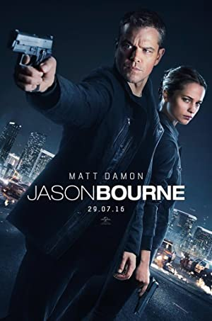 movie poster of Jason Bourne