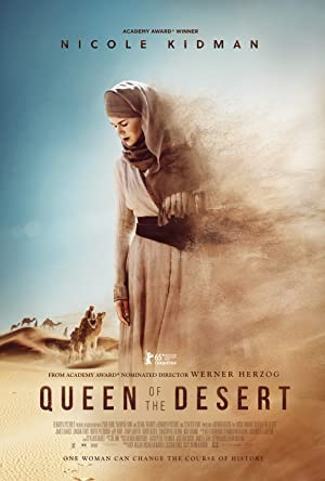 movie poster of Queen of the Desert