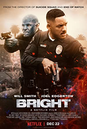 movie poster of Bright