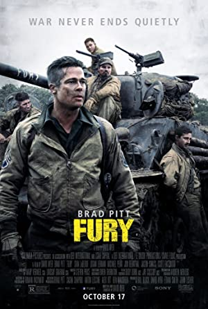 movie poster of Fury