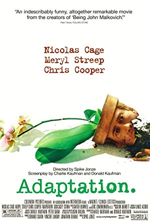 movie poster of Adaptation.