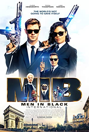 movie poster of Men in Black: International