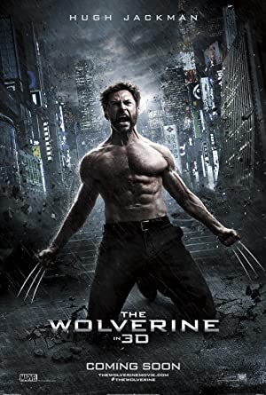 movie poster of Wolverine: Imortal