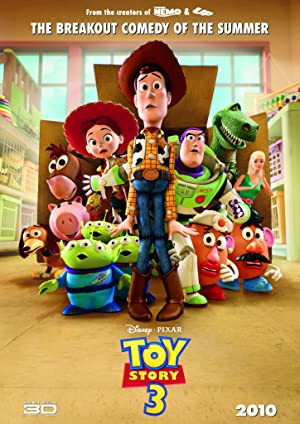 movie poster of Toy Story 3