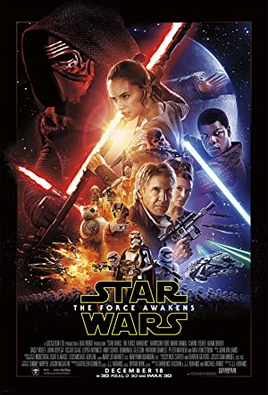 movie poster of Star Wars: Episode VII - The Force Awakens